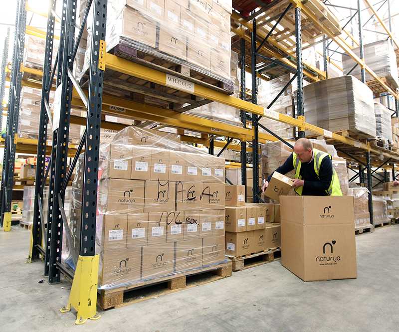 contract packing warehousing distribution
