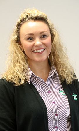 Ashleigh Phillips, HR/BRC Development Officer