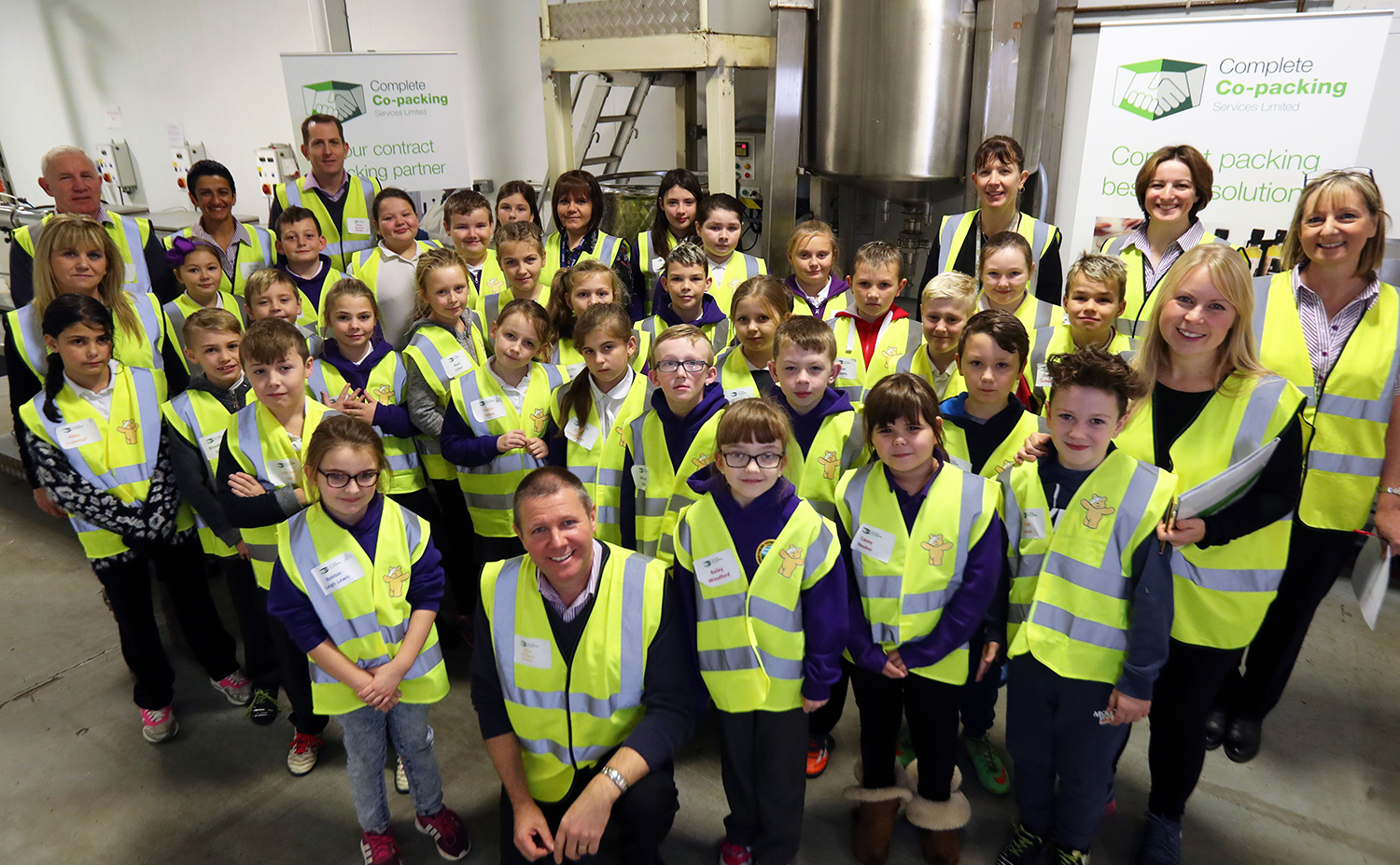 Complete Co-packing School Visit