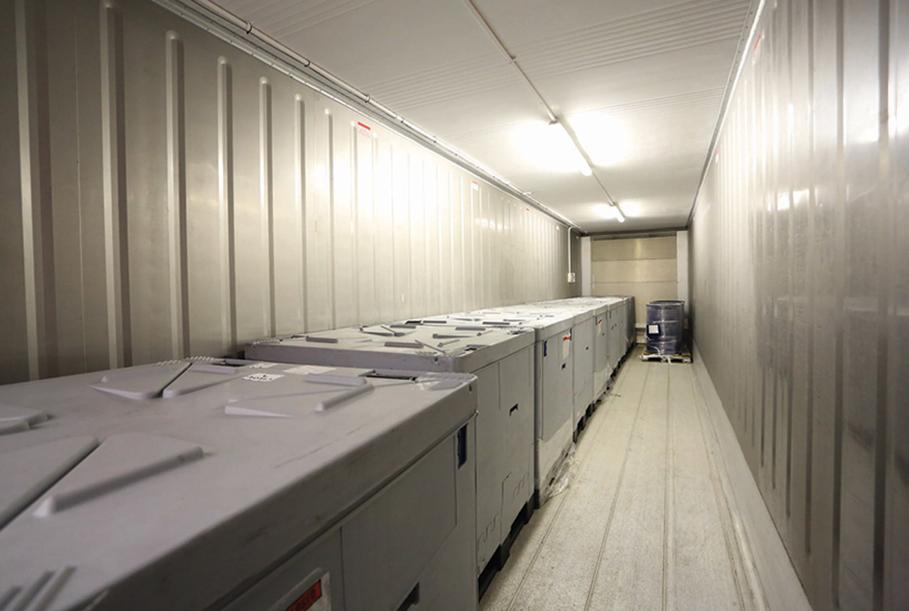 Complete Co-packing Chilled Storage Unit