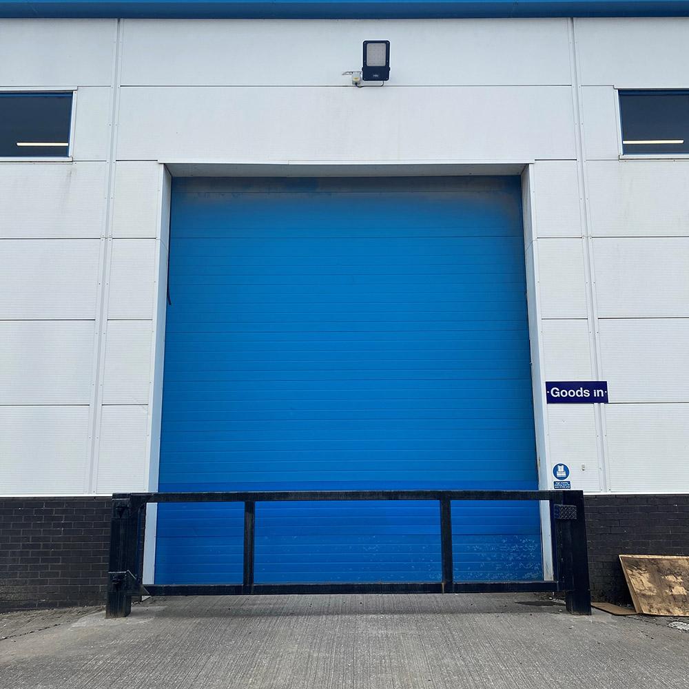 New Warehousing Fulfilment Centre Secure Loading Bay