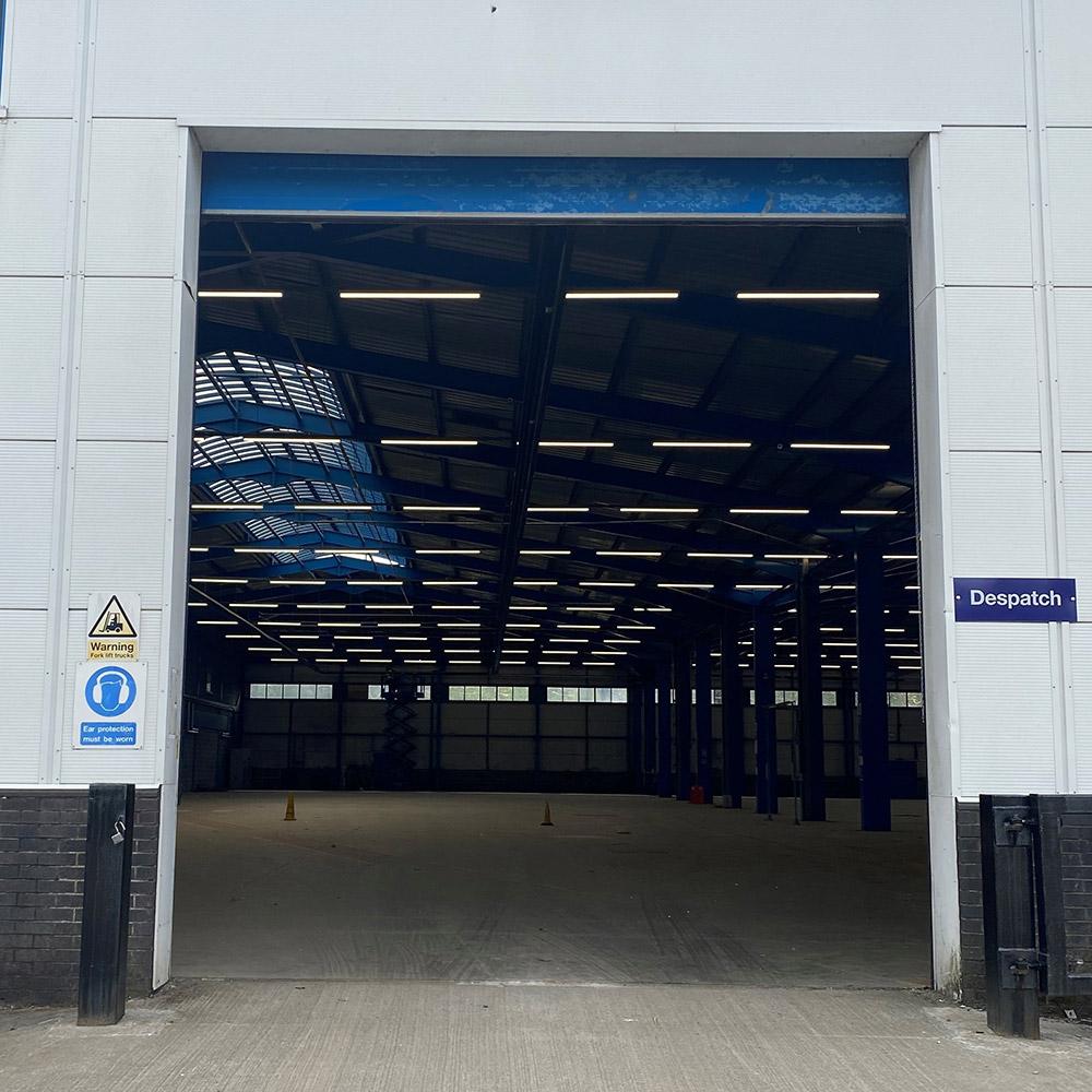 New Warehousing Loading Bay
